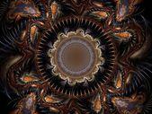 Fractal pattern — Zdjęcie stockowe
