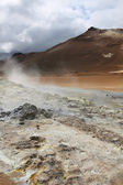 Iceland - volcanic area — Stock Photo