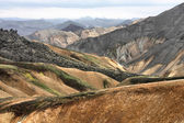 Iceland - Landmannalaugar — Stock Photo