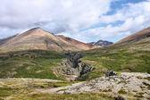Iceland volcano — Stock Photo