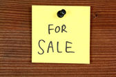 For sale — Stock Photo