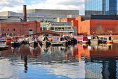 Birmingham waterway — Stock Photo