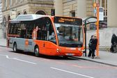 Manchester free bus — Stock Photo