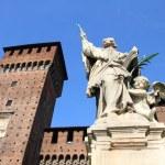 Milan castle — Stock Photo #30202871