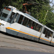 Bucharest tram — Stock Photo