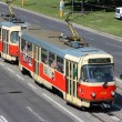Bratislavpublic transportation — Stock Photo #30209305