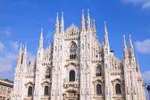 Katedralen i Milano, Italien — Stockfoto