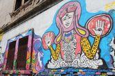 Timisoara street art — Stock Photo