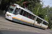 Bucharest tram — Stock Photo
