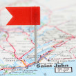 Saint John, New Brunswick — Stock Photo