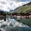 Stock Photo: Olden, Norway