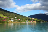 Norway fiord — Stock Photo