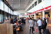 Letiště sandefjord — Stock fotografie