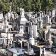Cemetery in Milan, Italy — Stock Photo