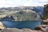 Norway fjord — Stock Photo