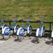 Stock Photo: City bikes