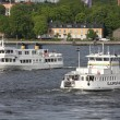 Stockholm ferries — Stock Photo