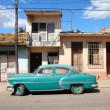 altes Auto in Kuba — Stockfoto