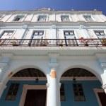 Havana - Plaza Vieja — Stock Photo