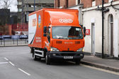 TNT Express Logistics — Stock Photo