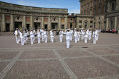 Military band — Stock Photo