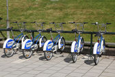 City bikes — Stock Photo