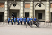 Royal Guard in Stockholm — Stock Photo