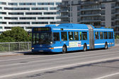 Volvo bus in Stockholm — Stock Photo