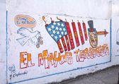 Propaganda art in Cuba — Stock Photo