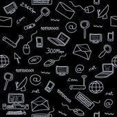 Computer background — Stock Vector