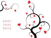 Ornement de la saint-valentin — Vecteur