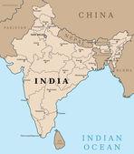 India — Stock Vector