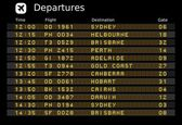 Australia airports — Stock Vector