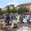 Brussels flea market — Stock Photo
