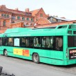 Veolia Transport - gas powered bus — ストック写真