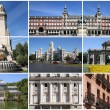 Madrid collage — Stock Photo