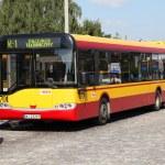 Постер, плакат: Solaris bus in Warsaw