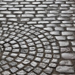 Cobbled square — Stock Photo