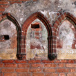 Malbork castle detail — Stock Photo #30256849