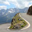 Italy - Alpine road — Stock Photo