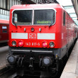 Deutsche Bahn train — Stock Photo