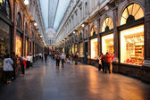 Brussels shopping — Stock Photo