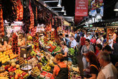 Boqueria, Barcelona — Stock Photo