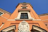 Warsaw castle — Stock Photo