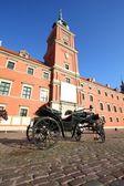 Castillo de varsovia — Foto de Stock