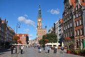 Gdansk - Dlugi Targ — Stock Photo
