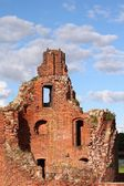 Malbork medieval castle — Stock Photo