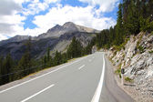 Switzerland - Alpine road — Foto de Stock
