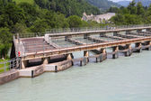 Water power plant — Stock Photo