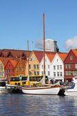 Bergen, noruega — Foto de Stock